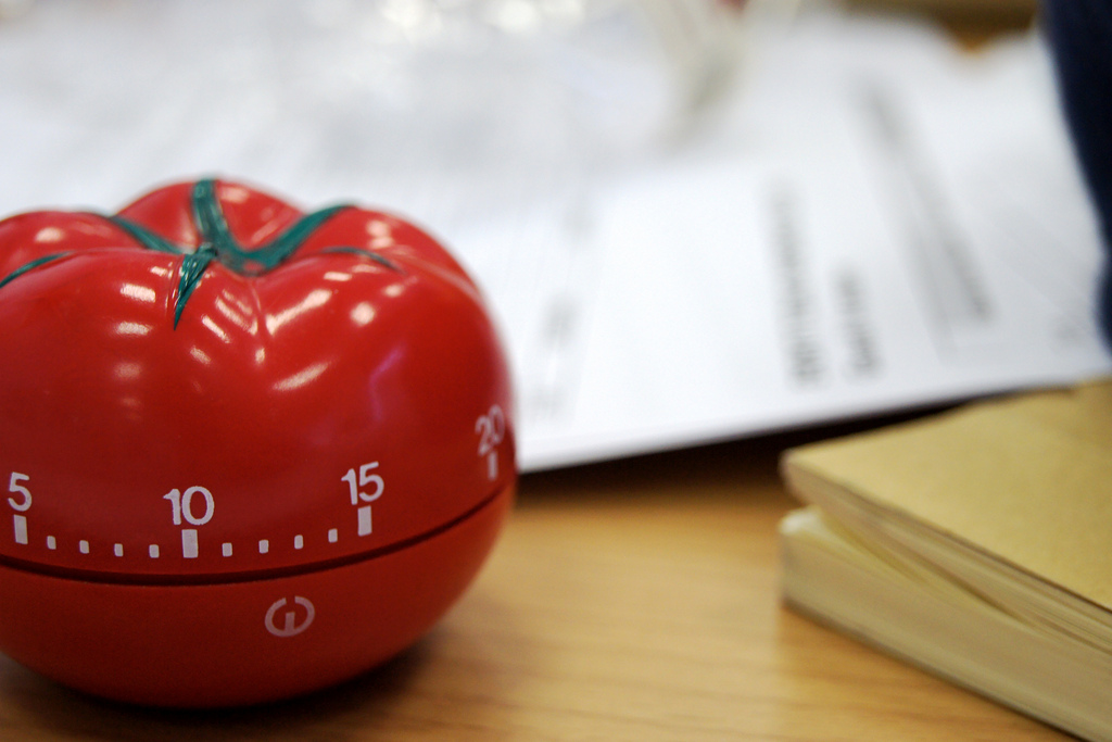pomodoro technique breaks