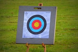 Archery Target Representing Google Analytics Conversions