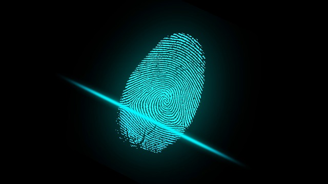 Fingerprint scan for two-factor authentication