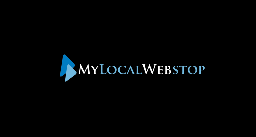 Logo of an earlier company by Frank called My Local Webstop